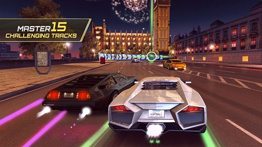 Asphalt 7 Mod Unlimited Money
